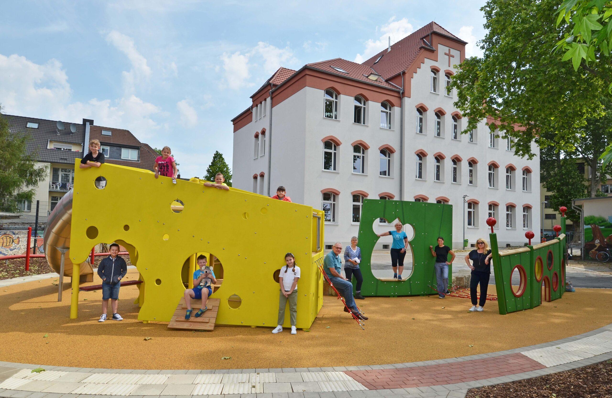 Spielplatz Gertrudisschule