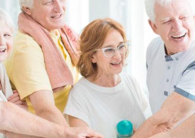 Bewegungstag beim Roten Kreuz Bewegt älter werden