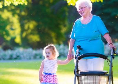 Fit in den Frühling– Senioren: Rollator-Führerschein
