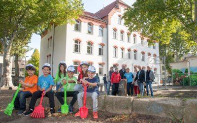 Schulhof Gertrudisschule