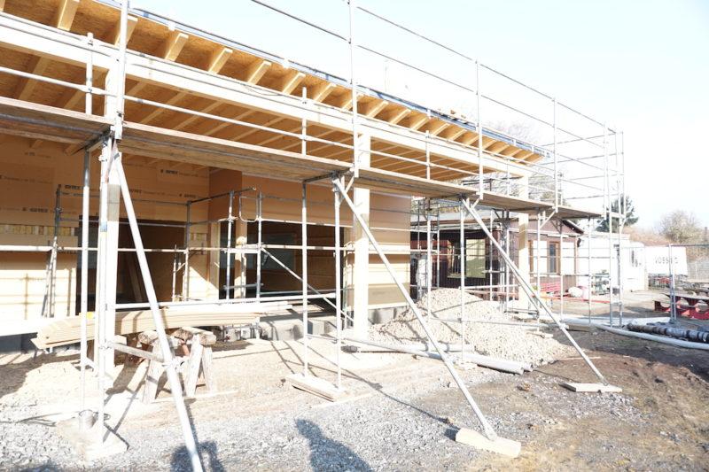 Betreuungsgebäude im Bau_2
