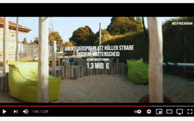 Abenteuerspielplatz in EFRE-Film