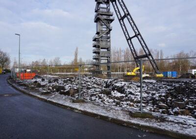 Baustelle Januar 2021