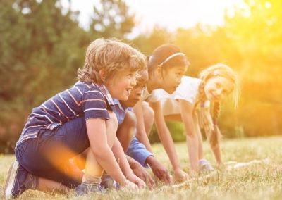 Spiel- und Sportnachmittag – Walk'n'Play im Stadtgarten